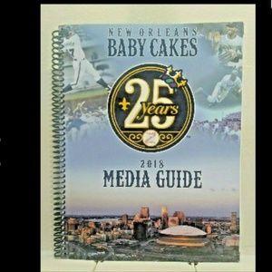 Rare 2018 New Orleans BABYCAKES Triple-A Baseball